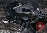 Image of Destroyed Army convoy Hoengsong Korea, 1951, second 32 stock footage video 65675041573