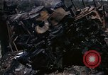 Image of Destroyed Army convoy Hoengsong Korea, 1951, second 39 stock footage video 65675041573