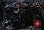Image of Destroyed Army convoy Hoengsong Korea, 1951, second 40 stock footage video 65675041573