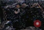 Image of Destroyed Army convoy Hoengsong Korea, 1951, second 44 stock footage video 65675041573