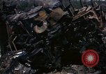 Image of Destroyed Army convoy Hoengsong Korea, 1951, second 45 stock footage video 65675041573
