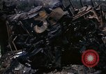 Image of Destroyed Army convoy Hoengsong Korea, 1951, second 47 stock footage video 65675041573