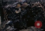 Image of Destroyed Army convoy Hoengsong Korea, 1951, second 49 stock footage video 65675041573