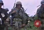 Image of Marine troops Naktong River Korea, 1950, second 37 stock footage video 65675041595