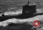 Image of nuclear powered submarine Connecticut USA, 1959, second 14 stock footage video 65675041625