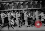 Image of Trier robe of Jesus Trier Germany, 1959, second 32 stock footage video 65675041630