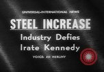 Image of President Kennedy United States USA, 1962, second 1 stock footage video 65675041635