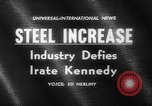 Image of President Kennedy United States USA, 1962, second 2 stock footage video 65675041635