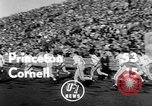 Image of football match Princeton New Jersey USA, 1951, second 4 stock footage video 65675041644