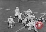 Image of football match Princeton New Jersey USA, 1951, second 26 stock footage video 65675041644