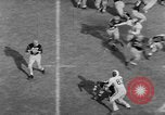 Image of football match Princeton New Jersey USA, 1951, second 53 stock footage video 65675041644