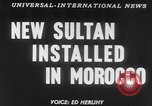Image of Sultan Morocco North Africa, 1953, second 19 stock footage video 65675041645