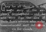 Image of early Air Mail service in 1920s United States USA, 1925, second 1 stock footage video 65675041662