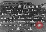 Image of early Air Mail service in 1920s United States USA, 1925, second 2 stock footage video 65675041662