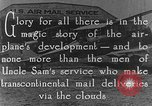 Image of early Air Mail service in 1920s United States USA, 1925, second 3 stock footage video 65675041662