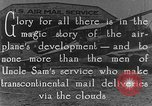 Image of early Air Mail service in 1920s United States USA, 1925, second 4 stock footage video 65675041662