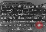Image of early Air Mail service in 1920s United States USA, 1925, second 5 stock footage video 65675041662