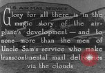 Image of early Air Mail service in 1920s United States USA, 1925, second 6 stock footage video 65675041662