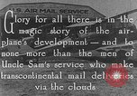 Image of early Air Mail service in 1920s United States USA, 1925, second 7 stock footage video 65675041662