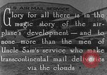 Image of early Air Mail service in 1920s United States USA, 1925, second 8 stock footage video 65675041662