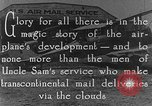 Image of early Air Mail service in 1920s United States USA, 1925, second 9 stock footage video 65675041662