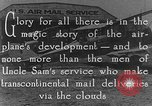 Image of early Air Mail service in 1920s United States USA, 1925, second 10 stock footage video 65675041662