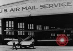 Image of early Air Mail service in 1920s United States USA, 1925, second 21 stock footage video 65675041662