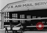 Image of early Air Mail service in 1920s United States USA, 1925, second 23 stock footage video 65675041662