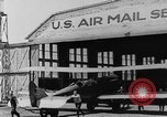 Image of early Air Mail service in 1920s United States USA, 1925, second 24 stock footage video 65675041662