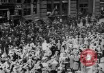 Image of New York Curb Market Brokers on Broad Street New York City USA, 1918, second 5 stock footage video 65675041698