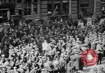 Image of New York Curb Market Brokers on Broad Street New York City USA, 1918, second 6 stock footage video 65675041698