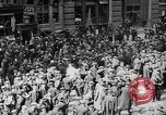 Image of New York Curb Market Brokers on Broad Street New York City USA, 1918, second 7 stock footage video 65675041698