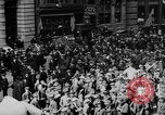 Image of New York Curb Market Brokers on Broad Street New York City USA, 1918, second 10 stock footage video 65675041698