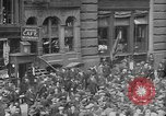 Image of New York Curb Market Brokers on Broad Street New York City USA, 1918, second 14 stock footage video 65675041698