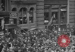 Image of New York Curb Market Brokers on Broad Street New York City USA, 1918, second 17 stock footage video 65675041698