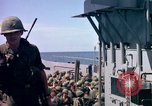 Image of 1st Infantry Division Vietnam arrival Vietnam, 1965, second 39 stock footage video 65675041714