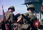 Image of 1st Infantry Division Vietnam arrival Vietnam, 1965, second 42 stock footage video 65675041714