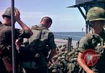 Image of 1st Infantry Division Vietnam arrival Vietnam, 1965, second 50 stock footage video 65675041714