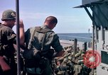 Image of 1st Infantry Division Vietnam arrival Vietnam, 1965, second 51 stock footage video 65675041714