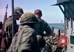 Image of 1st Infantry Division Vietnam arrival Vietnam, 1965, second 53 stock footage video 65675041714