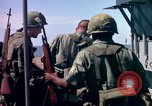 Image of 1st Infantry Division Vietnam arrival Vietnam, 1965, second 54 stock footage video 65675041714