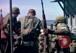 Image of 1st Infantry Division Vietnam arrival Vietnam, 1965, second 55 stock footage video 65675041714