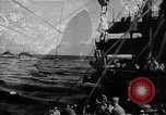 Image of United States Coast Guard transports carry amphibious forces Guadalcanal Solomon Islands, 1942, second 13 stock footage video 65675041744