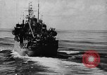 Image of United States Coast Guard transports carry amphibious forces Guadalcanal Solomon Islands, 1942, second 23 stock footage video 65675041744