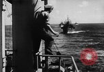Image of United States Coast Guard transports carry amphibious forces Guadalcanal Solomon Islands, 1942, second 25 stock footage video 65675041744