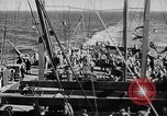 Image of United States Coast Guard transports carry amphibious forces Guadalcanal Solomon Islands, 1942, second 35 stock footage video 65675041744