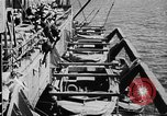 Image of United States Coast Guard transports carry amphibious forces Guadalcanal Solomon Islands, 1942, second 46 stock footage video 65675041744