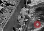 Image of United States Coast Guard transports carry amphibious forces Guadalcanal Solomon Islands, 1942, second 59 stock footage video 65675041744