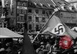 Image of German troops entering Graz during Anschluss Austria, 1938, second 6 stock footage video 65675041765