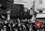 Image of German troops entering Graz during Anschluss Austria, 1938, second 14 stock footage video 65675041765